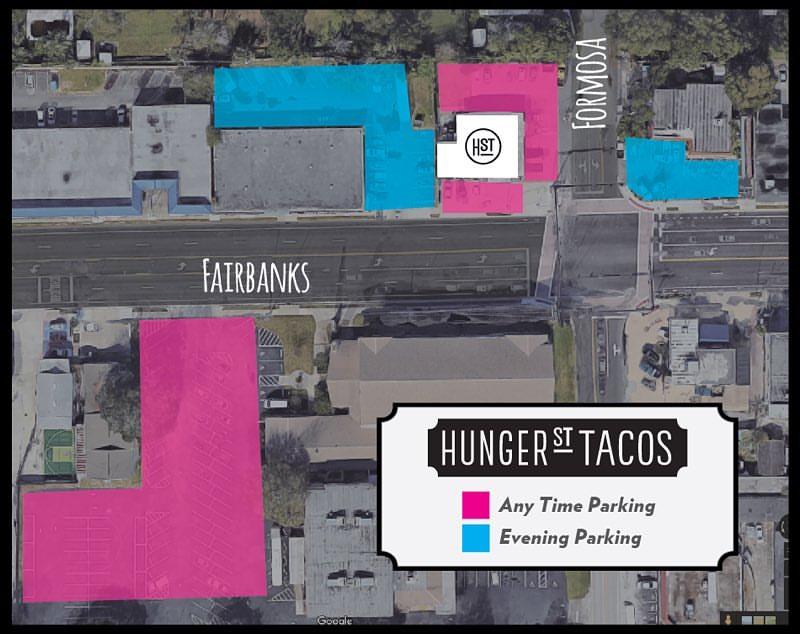 Hunger Street parking